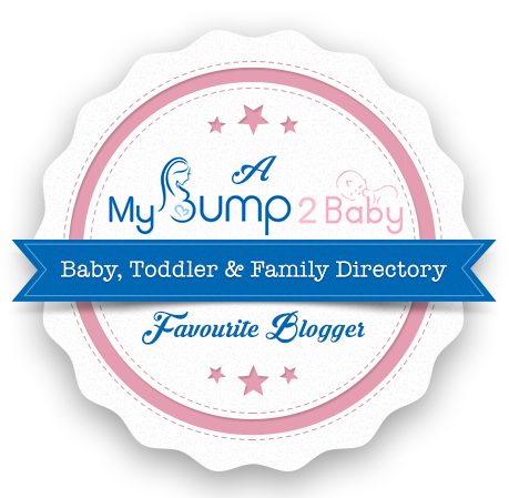 I am one of MyBump2Baby's favourite bloggers