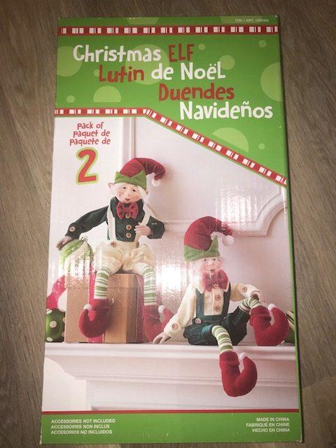 Christmas Giveaway – Christmas Elves x 2